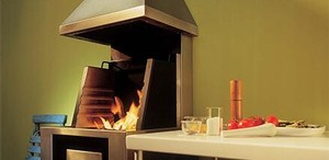 CookCook kitchen fireplace