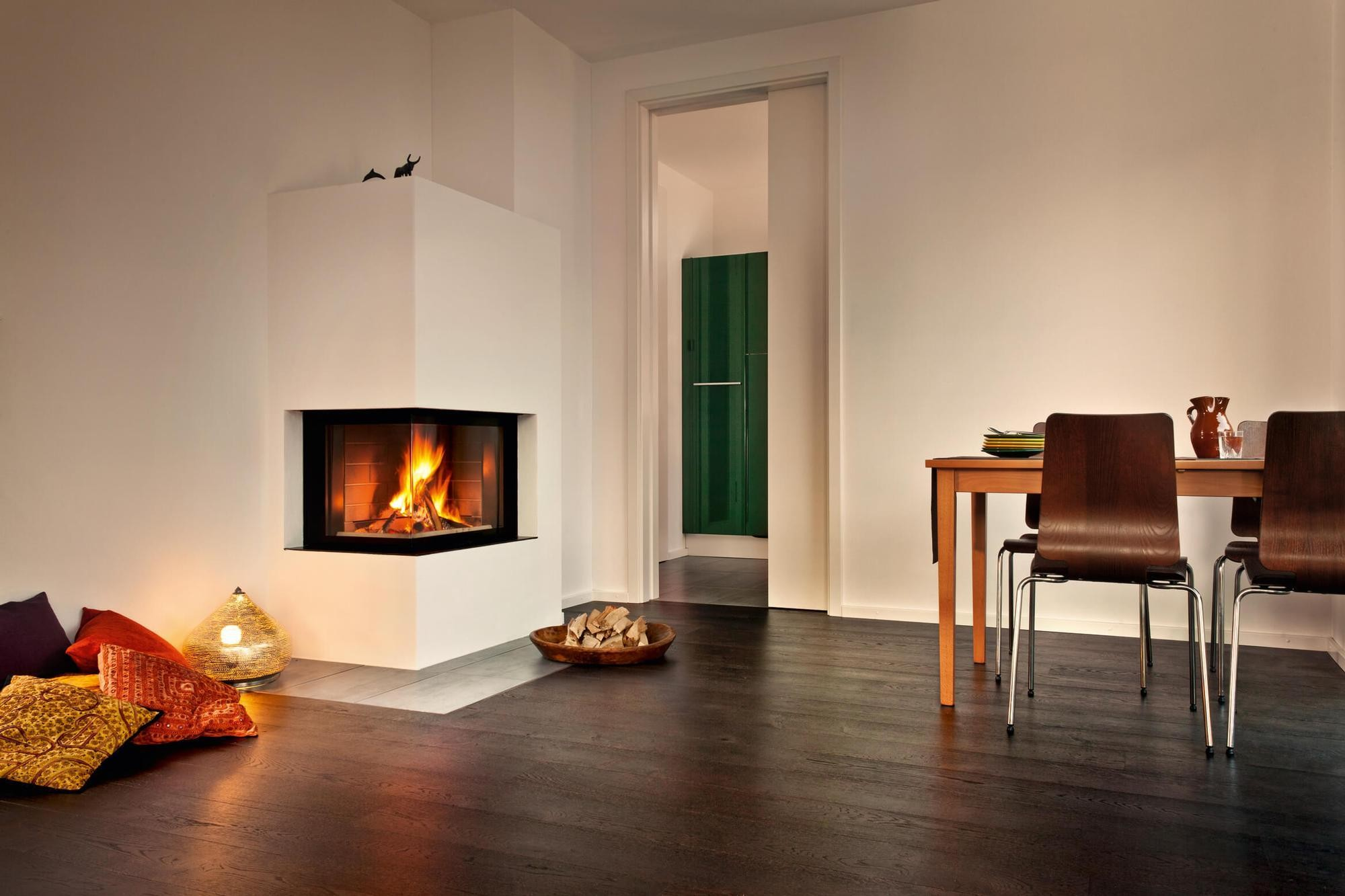 Pictures Of Corner Fireplaces