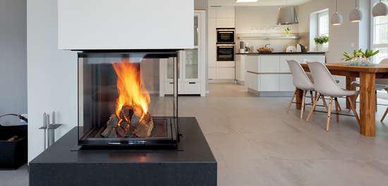 CUBEO® fireplace
