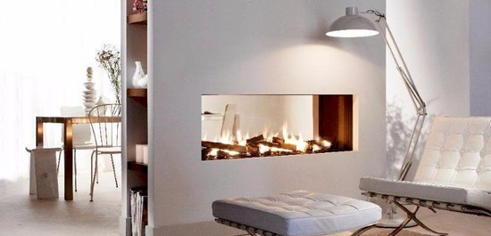 LUCIUS gas fireplace